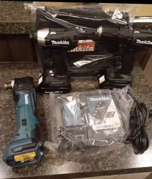 "Makita 18"" drill set for Sale in Columbus, MS"