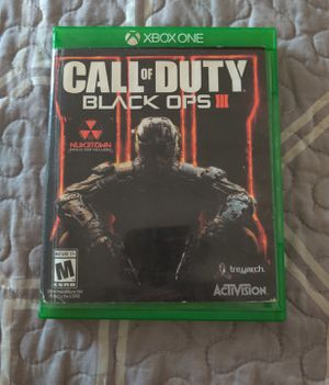 Call of Duty: Black Ops III, Xbox One, S, X for Sale in Painted Post, NY