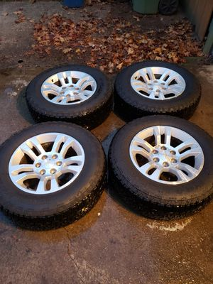 Almost brand new goodyear tires and chevy rims for Sale in Milwaukie, OR