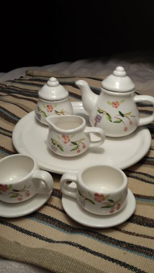 Miniature Decorative Tea Set for Sale in Fairfax, VA