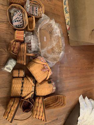 Longaberger Baskets for Sale in El Segundo, CA