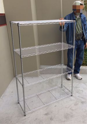 New in box 4.5 feet tall 36x14x54 nches tall 500 lbs capacity heavy duty garage storage shelf shoe organizer rack with 4 tiers for Sale in Whittier, CA