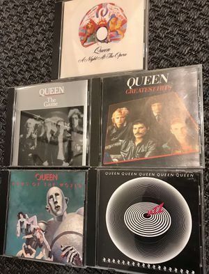 Lot of Five Queen CDs great condition. North hills pick up for Sale in Raleigh, NC