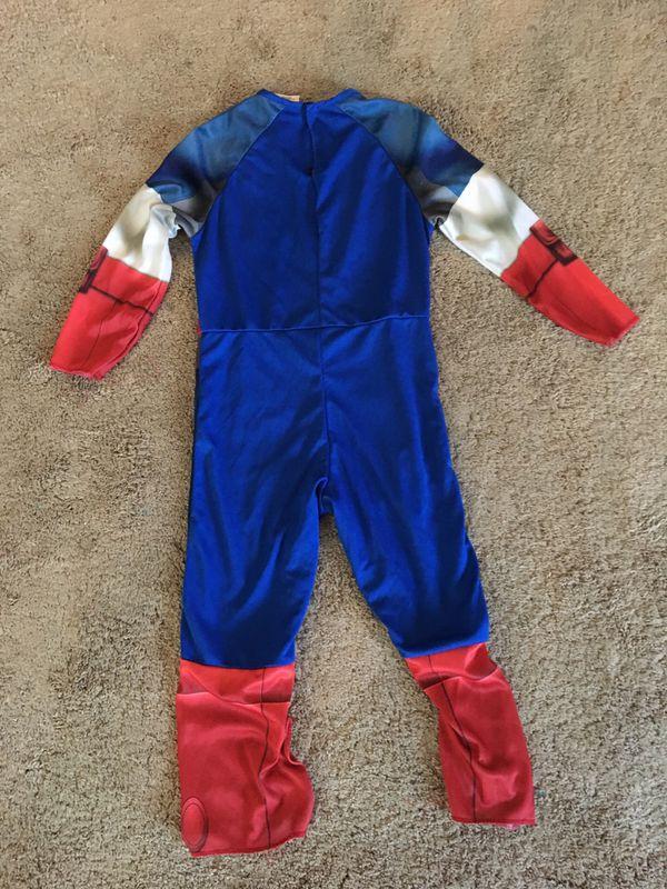 Avengers captain America custome