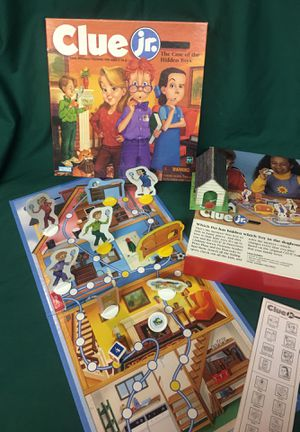 Clue Jr. - game specially designed for ages 5 to 8 for Sale in Menomonee Falls, WI