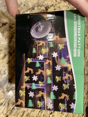 Christmas projector lights for Sale in Harrisonburg, VA