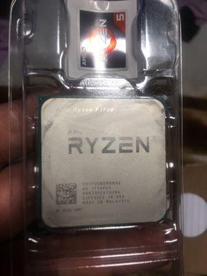 Ryzen 7 1700 CPU for Sale in Santa Ana, CA