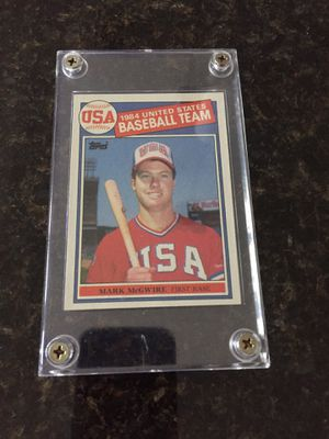 1984 USA Baseball Card Mark McGwire for Sale in Winter Springs, FL