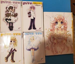 Pita ten Vol 2-5 Manga+Pita ten Illustration Collection for Sale in San Antonio, TX