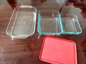 Pyrex glass container (3) for Sale in Fort Worth, TX
