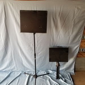 Music stands. 2. Collapsible, folding. for Sale in Hillsboro, OR