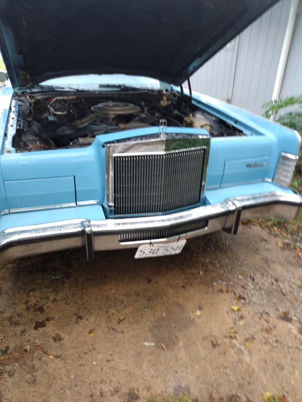 A 1979 Lincoln