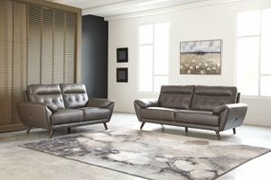 Brand new leather sofa and loveseat from Ashley for Sale in Richmond, VA