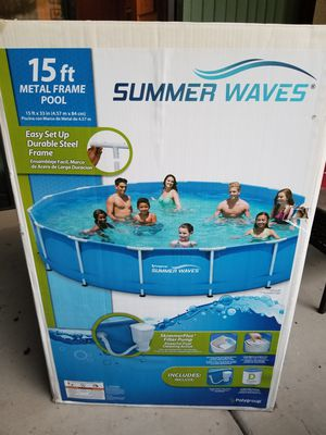 2018 Summer wave/ Intex Pool/ Pump/ Accessories for Sale in Tempe, AZ