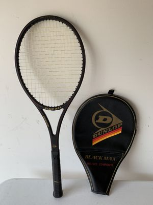 """Dunlop Tennis Racket """"Black Max"""" model for Sale in Riverhead, NY"""