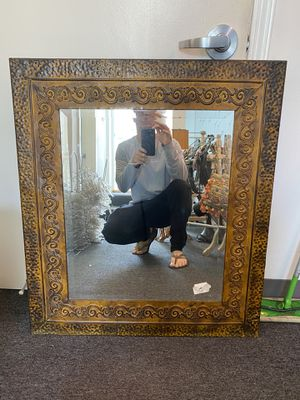 Bronze wall mirror for Sale in Beverly Hills, CA
