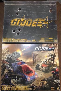 G.I. JOE 50TH ANNIVERSARY DESERT DUEL RARE COLLECTIBLE ACTION FIGURES COMIC-CON for Sale in San Diego, CA