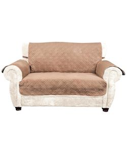 """Slipcovers Made of Quilted Microfiber Suede for Pets, Canine Chair Loveseat Sofa/Couch Covers for Dogs, Cats (Loveseat, 47""""x74"""") for Sale in Union City,  CA"""