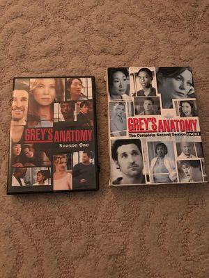 Grey's Anatomy Seasons 1 & 2 for Sale in Denver, CO