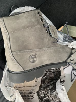 Timberlands Grey Boots for Sale in Windsor, ON