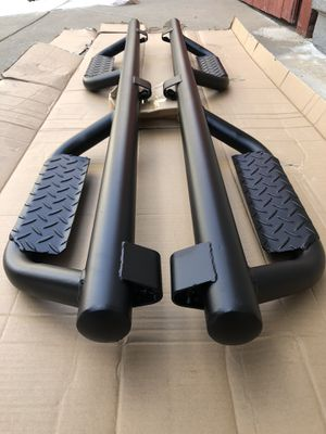Toyota 4Runner 2010 - 2020 side steps running boards bolted on no drill needed estribos price include installation for Sale in San Marcos, CA