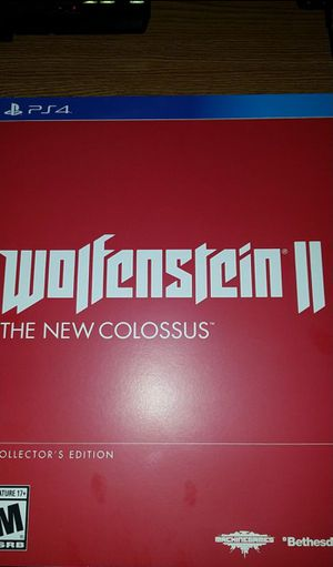 Wolfenstein 2 Collectors Edition (PS4) for Sale in Corona, CA