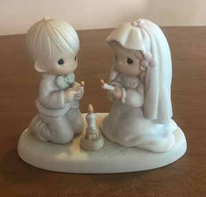PRECIOUS MOMENTS WEDDING COUPLE LIGHTING UNITY CANDLE for Sale in Lemon Grove, CA