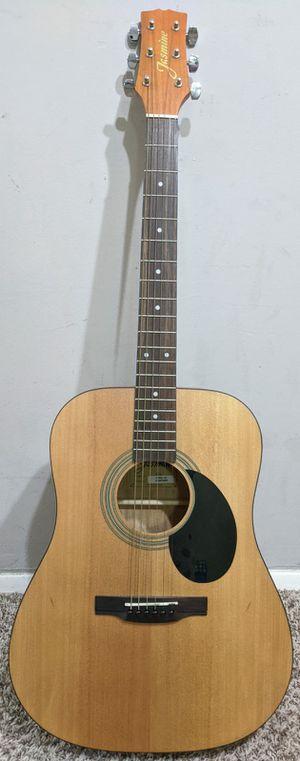 Jasmine S35 acoustic guitar + shoulder strap bag for Sale in NJ, US
