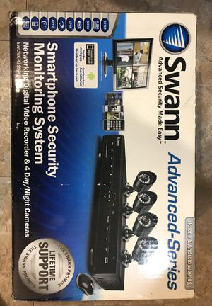 Swann Advanced-Series Security System (4 cameras) for Sale in Alexandria, VA