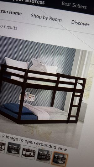 Twin White loft bed free delivery for Sale in Jamestown, NC