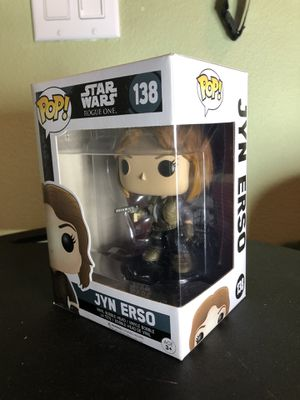 Jyn Erso Funko Pop for Sale in Irvine, CA