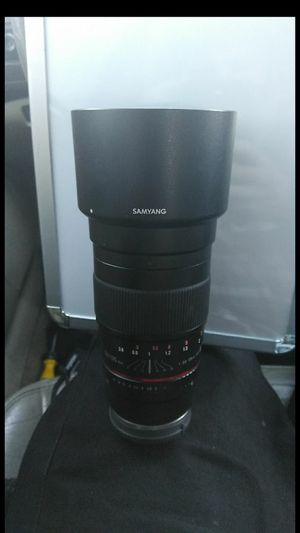 Samyang 2.0 135mm Camera Lens with Sony E Mount attachment for Sale in Seattle, WA