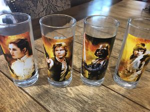 Star wars glass collection for Sale in Tolleson, AZ