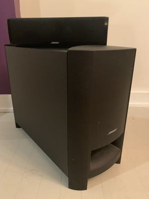 Bose Sound Bar and Subwoofer for Sale in Evanston, IL
