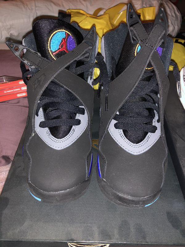 GS Jordan Aqua 8s sz 4y