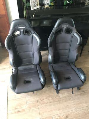 Corbeau racing seats (adjustable) for Sale in Tarpon Springs, FL