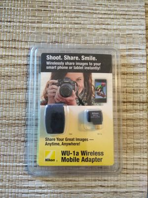 Nikon WU-1a Wireless Mobile Adapter for Nikon DSLR Cameras New! for Sale in Bloomingdale, IL
