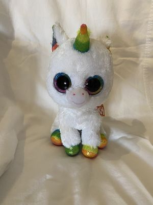Ty unicorn plush for Sale in Hialeah, FL