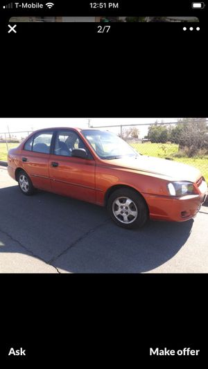 2000 Hyundai Accent. Low miles for Sale in Moreno Valley, CA