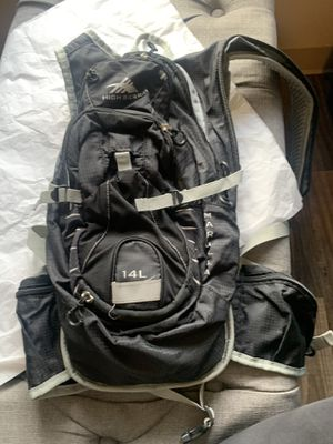 Hydration backpack with water bladder for Sale in Portland, OR