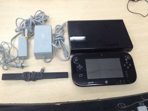 NINTENDO WII U BLACK 32GB GAME SYSTEM CONSOLE for Sale in Chicago, IL