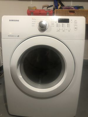 Samsung Dryer Electric 220V model DV36J4000EW for Sale in Glen Rock, NJ