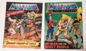 RETRO-2x-MASTERS OF THE UNIVERSE comics for Sale in Canton, IL