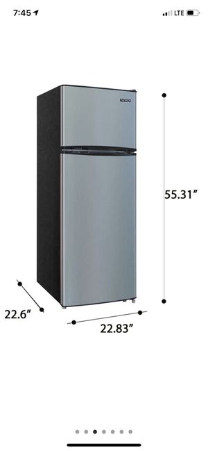 New in box refrigerators / freezer Factory sealed new in box refrigerator/freezer 7.5 cu. ft. Top-Freezer Refrigerator is perfect choice for those lo for Sale in Fresno, CA
