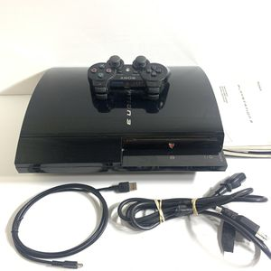 Sony PlayStation 3 PS3 Backwards Compatible Launch Edition CECHB01 20gb for Sale in San Leandro, CA