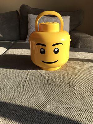 LEGO 2 tray Large Storage Head - Boy for Sale in Lacey, WA