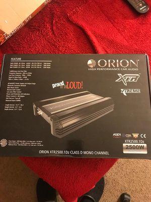 Orion xtr 2500 dz amplifier for Sale in Wheeling, IL