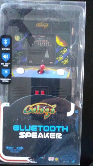 Galaga mini arcade game bluetooth speaker for Sale for sale  Clovis, CA
