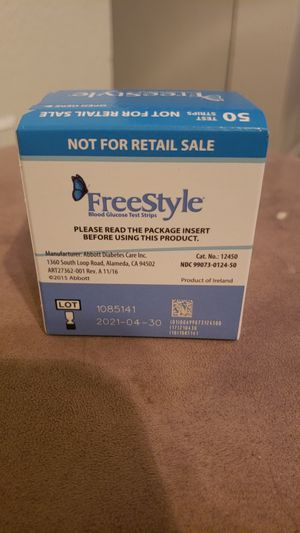Freestyle test strips for Sale in Irving, TX