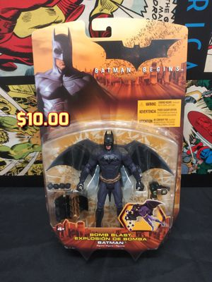 2005 Bomb Blast Batman Toy Action Figure Batman Begins MOC for Sale in Alameda, CA